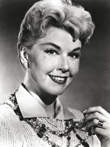 Doris Day Portrait in Classic with Blouse Photo