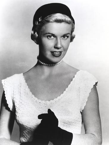Doris Day Portrait in Classic with Gloves Photo