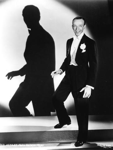 Fred Astaire Spotlight Aimed at Him Photo