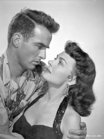 From Here To Eternity Man about to Kiss a Woman in Black Photo
