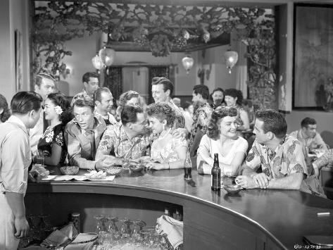 From Here To Eternity Men and Women in Bar Foto