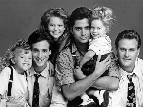 Full House Main Cast Portrait Photo