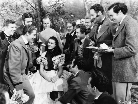 Gone With The Wind Celebrating Scene Photo