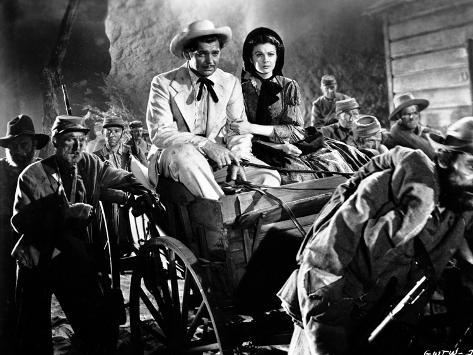 Gone With The Wind Couple Riding Carousel Movie Scene Photo