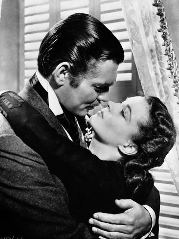 Gone With The Wind Kissing Scene Photo
