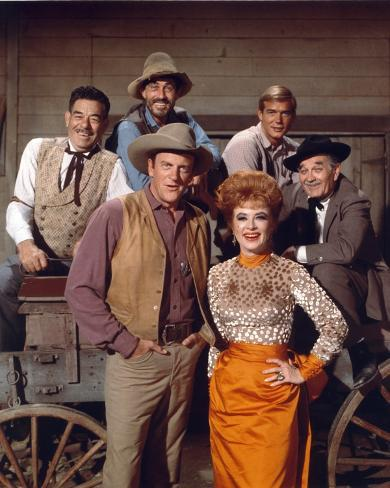 Gunsmoke in Classic Picture Photo