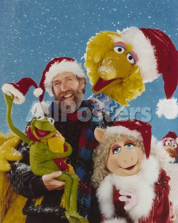 Jim Henson Portrait with Sesame Street Cast Photo by Movie Star News ...