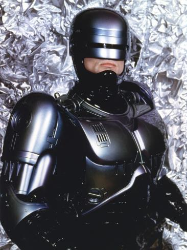 John Burke as Robocop Photo