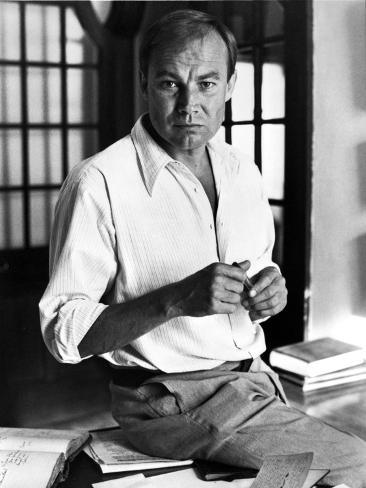 Klaus Brandauer in White long sleeve Portrait Photo
