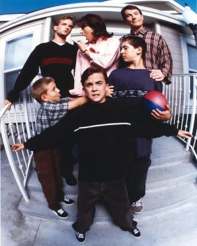 Malcolm In The Middle Family Picture Portrait Photo