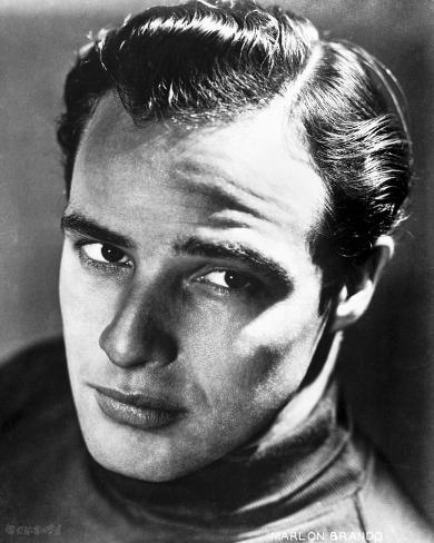 Marlon Brando in Headlock Movie Still Photo
