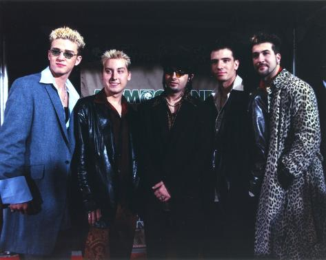N'sync Group Picture in Coat Photo