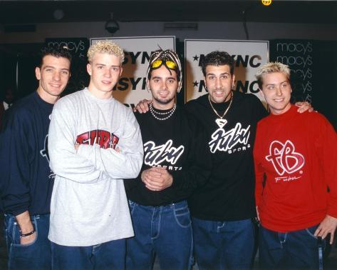 N'sync Group Picture in Fubu Shirt Photo