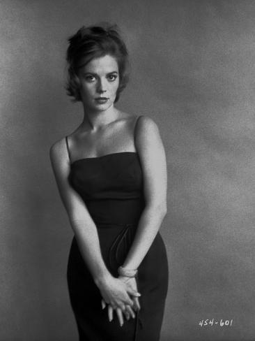Natalie Wood posed in a Black Dress Photo