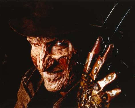 Nightmare On Elm Street Freddy in Close Up smiling Portrait with Hat Photo
