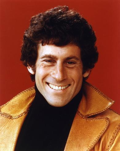 Paul Glaser Portrait in Brown Leather Jacket Photo