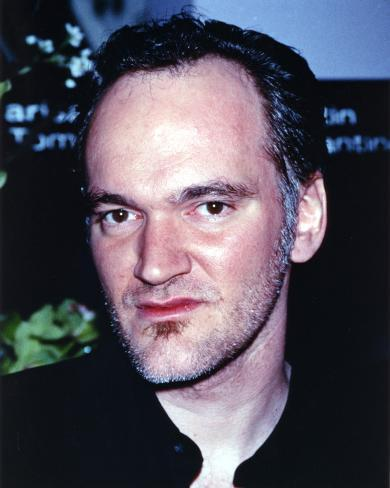 Quentin Tarantino Slight Side View Close-up Portrait Photo