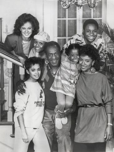 Show Cosby Taking a Family Picture Photo