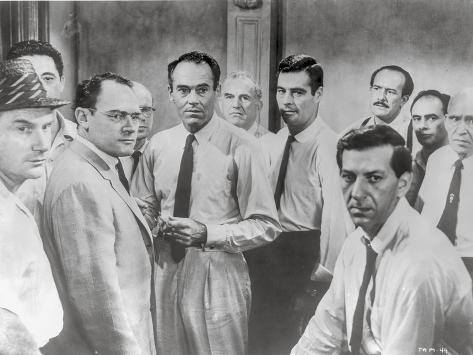 Twelve Angry Men in Group Picture Photo