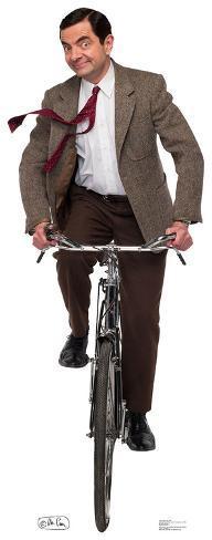 Mr. Bean - Bike Ride Cardboard Cutouts