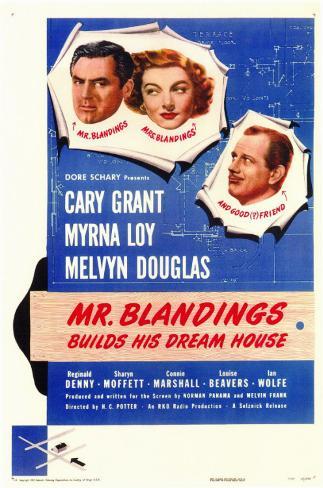 Mr. Blandings Builds His Dream House Masterprint