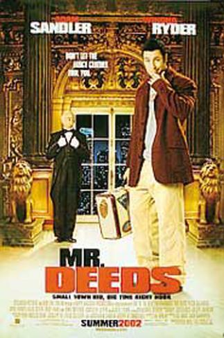 Mr. Deeds Double-sided poster