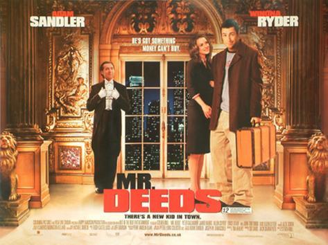 Mr. Deeds Original Poster