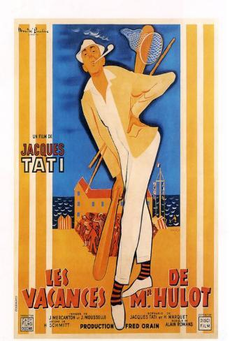 Mr. Hulot's Holiday - French Style Poster