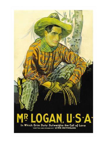 Mr. Logan Usa Art Print