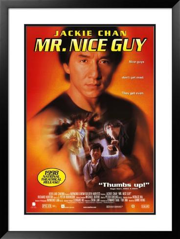 Mr. Nice Guy: Bom de Briga Pôster emoldurado