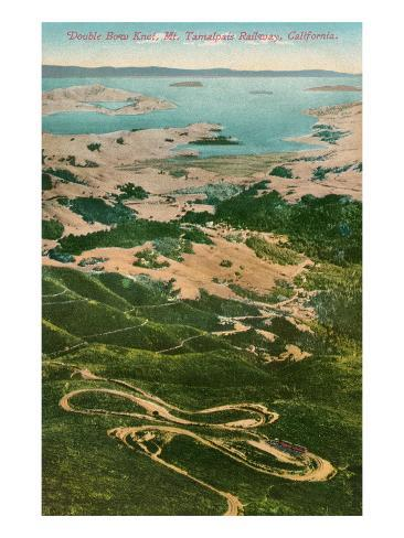 Mt. Tamalpais, California Art Print
