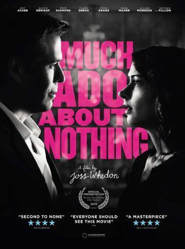 Much Ado About Nothing Movie Poster Impressão original