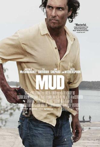 Mud (Matthew McConaughey, Tye Sheridan, Jacob Lofland) Movie Poster Impressão original