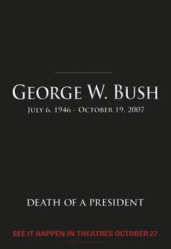 Muerte de un presidente Póster original