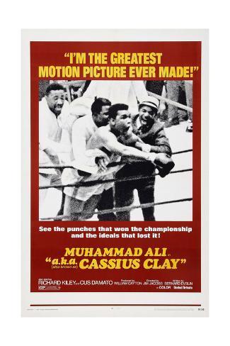 Muhammad Ali A.K.A. Cassius Clay Giclee Print