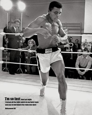 Muhammad Ali - Fast Mini Poster