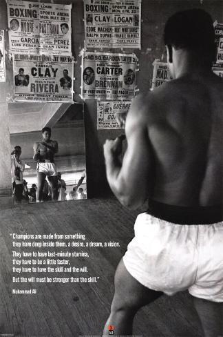 Muhammad Ali - Ginástica Pôster
