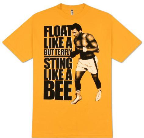 Muhammad Ali - Like a Bee T-Shirt