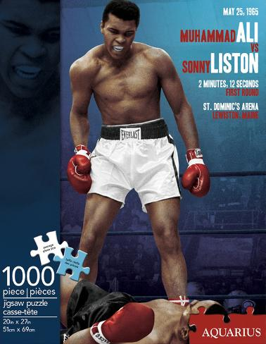 Muhammad Ali - Liston 1000 Piece Puzzle Jigsaw Puzzle