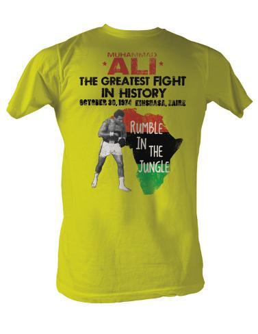 Muhammad Ali - Rumble Jungle T-Shirt