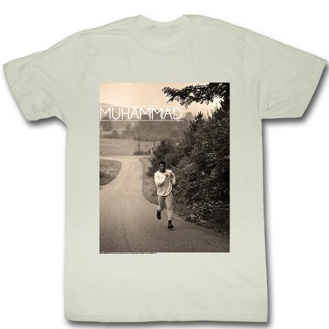 muhammad ali running t shirt. Black Bedroom Furniture Sets. Home Design Ideas
