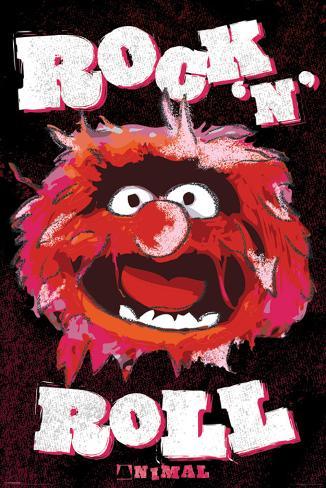 Muppets - Animal-Metallic Poster