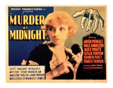 Murder at Midnight - 1931 Giclee Print