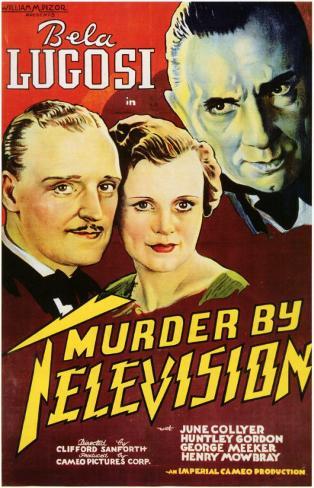 Murder by Televisão Impressão original