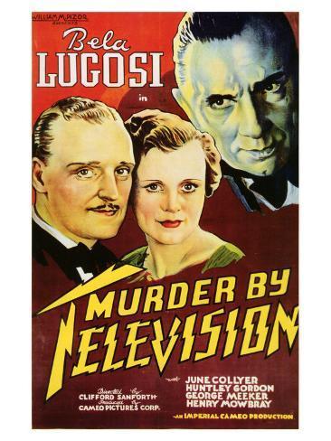 Murder By Television, 1935 Art Print