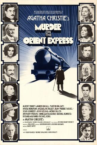 Murder on the Orient Express Art Print