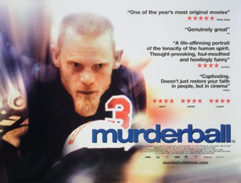 Murderball Póster original
