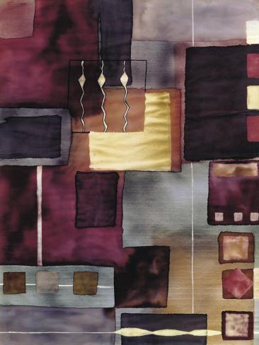 Velvet Jigsaw Stretched Canvas Print