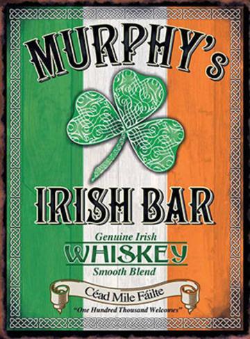 Murphy's Targa di latta