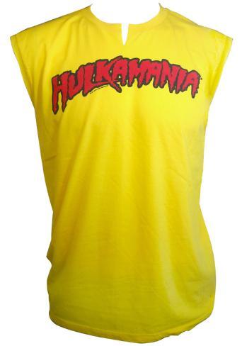 Muscle Tank: Hulk Hogan - Hulkamania T-Shirt